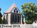 Bach-Festival 2018 in Arnstadt