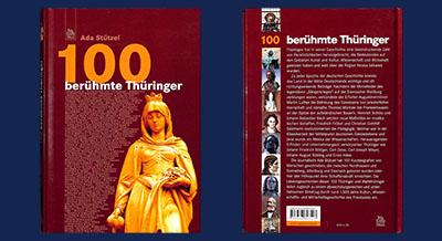 100 Berühmte Thüringer, in der Lesestube in Arnstadt