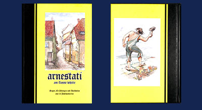Arnestati am flusse whitte in der Lesestube in Arnstadt