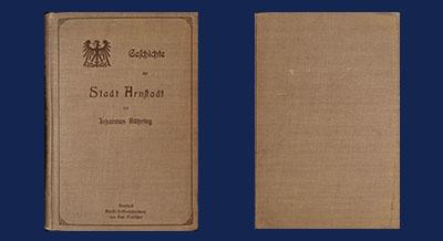 Geschichte der Stadt Arnstadt 704 - 1904