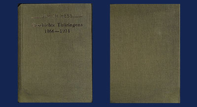 Geschichte Thüringens 1866-1914 - in Arnstadt verfügbar