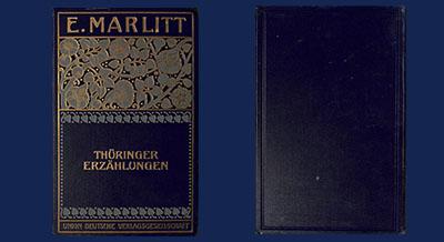 Thüringer Erzählungen von E. Marlitt aus Arnstadt