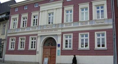 Haus zur Roten Thür in Arnstadt