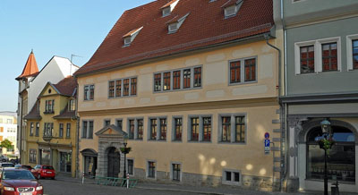 Haus zum Schwarzen Löwen in Arnstadt